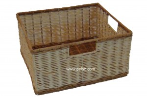 114401 Rattan Laundry Basket