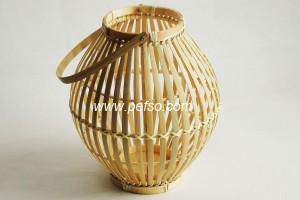 332201 Natural Bamboo Lantern