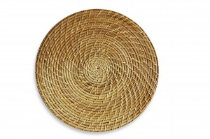 116607 Rattan Charger Plate