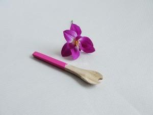 222204 Bamboo salad fork