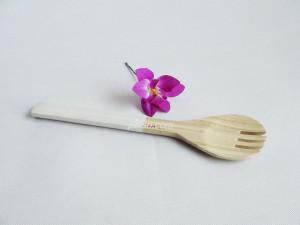 222207 Bamboo salad fork