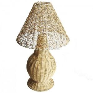 331128 Rattan lamp