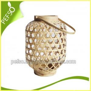 332204 Natural Bamboo Lantern