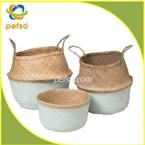 551119 set of 3 Seagrass basket