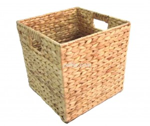 661117 Water Hyacinth Storage Basket