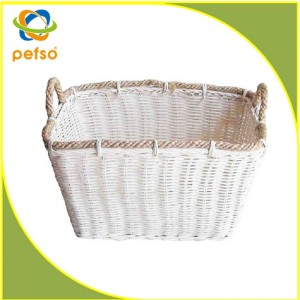 114404 Rattan Laundry Basket