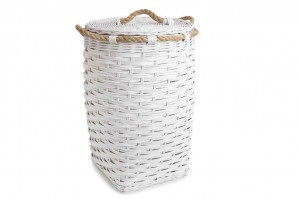 114406 Rattan Laundry Basket