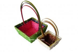 227733 Bamboo Gift Basket