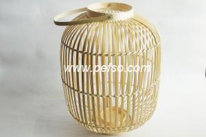 332202 Natural Bamboo Lantern