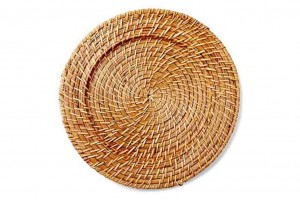 116601 Rattan Charger Plate