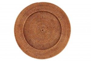 116602 Rattan Charger Plate