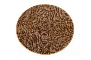 116604 Rattan Charger Plate