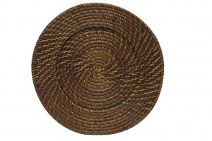 116606 Rattan Charger Plate