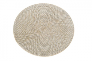 116608 Rattan Charger Plate