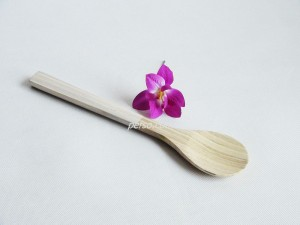 222206 Bamboo Solid Spoon