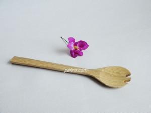 222208 Bamboo salad fork