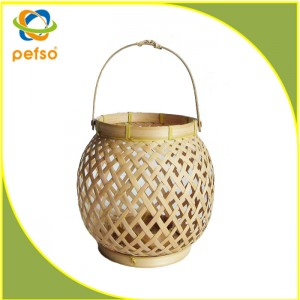 332203 Natural Bamboo Lantern