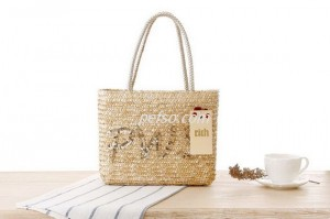 552205 Seagrass Handbag – Pefso Co., Ltd