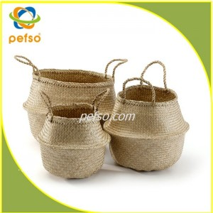 551125 set of 3 Seagrass basket – Pefso Co., Ltd