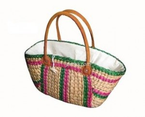 662206 Water Hyacinth HandBag