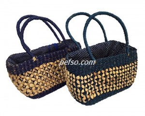 662207 Water Hyacinth HandBag