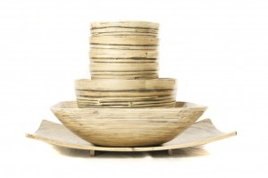 226638 Set of Bamboo Bowls