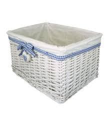 114409 Rattan Laundry Basket
