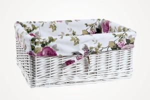 114411 Rattan Laundry Basket