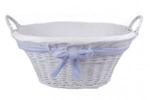 114413 Rattan Laundry Basket