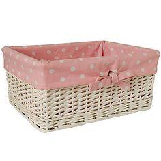 114414 Rattan Laundry Basket