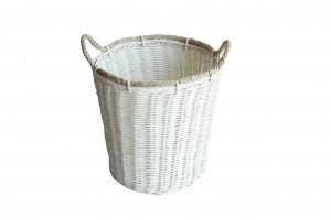 114405 Rattan Laundry Basket