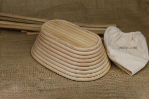 New Natural Oval Banneton Brotform pefso (2)